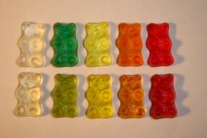 Les bonbons traditionnels ne contiennent que des sucres rapides.